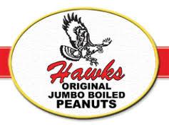 Hawks ORIGINAL JUMBO BOILED PEANUTS